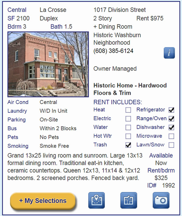 Apartment Search Guide: Chippewa Valley APARTMENT ConNeXTion